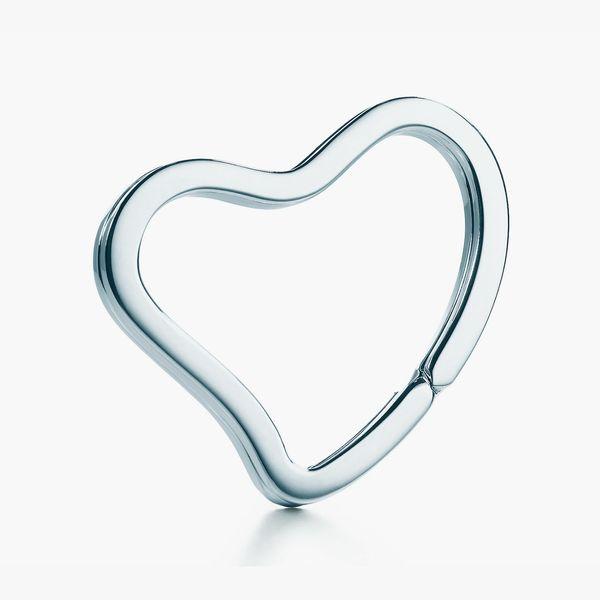 Tiffany & Co. Elsa Peretti Open Heart Key Ring
