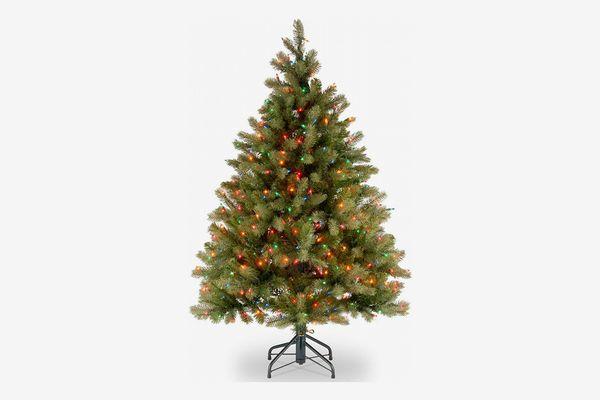 National Tree Downswept Douglas Fir Tree with 450 Multicolor Lights