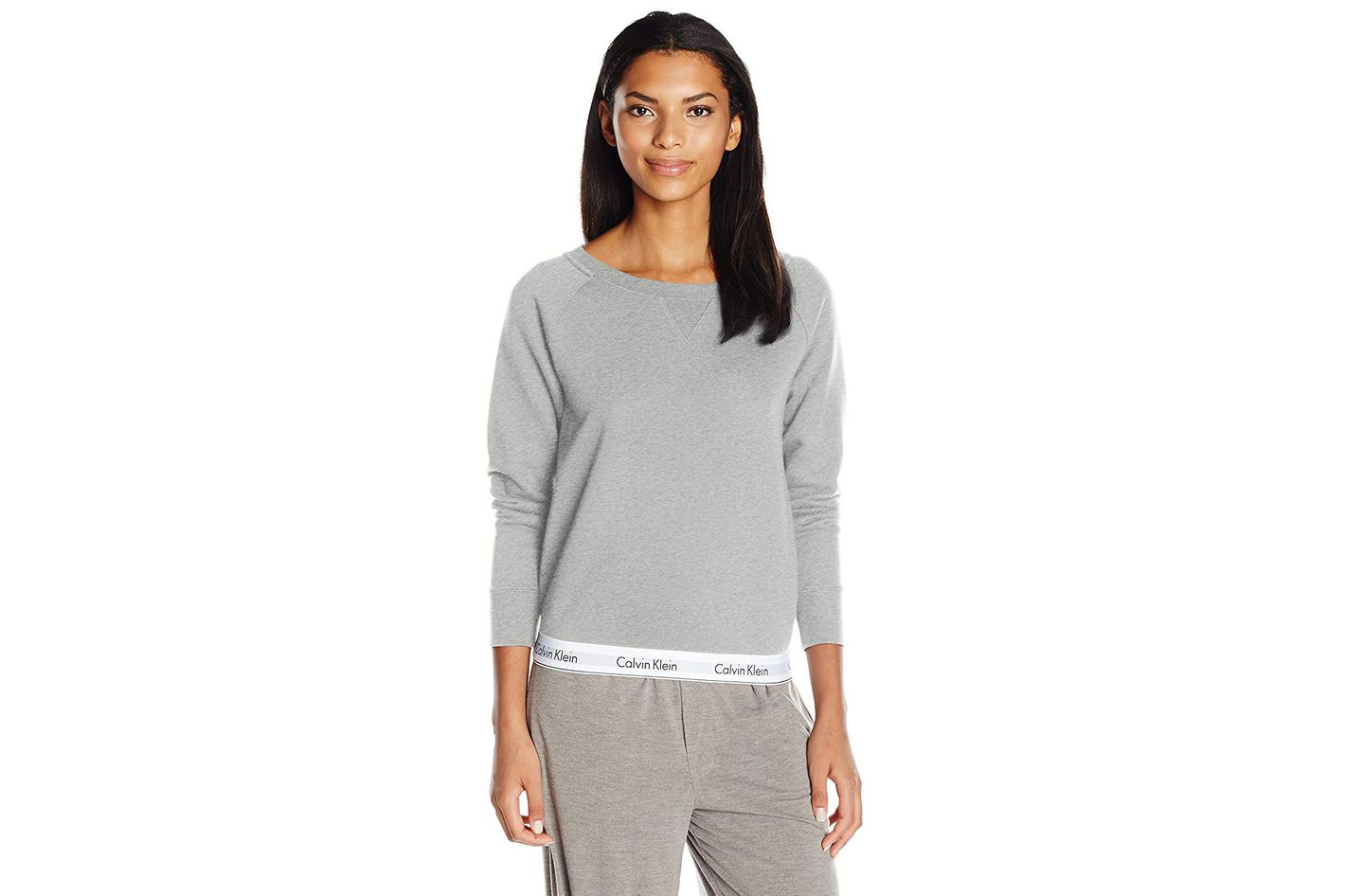 Calvin Klein Modern Cotton Long Sleeve Sweatshirt