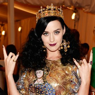 NEW YORK, NY - MAY 06: Katy Perry attends the Costume Institute Gala for the