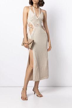 Dion Lee Cut-Out Crochet Dress