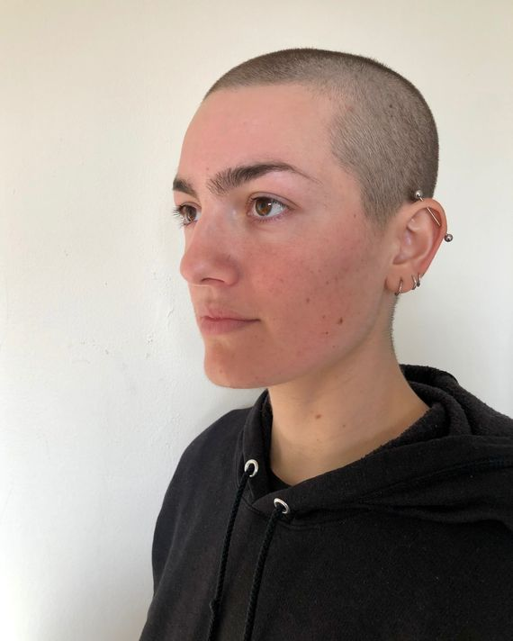 Ugly Shaved Head