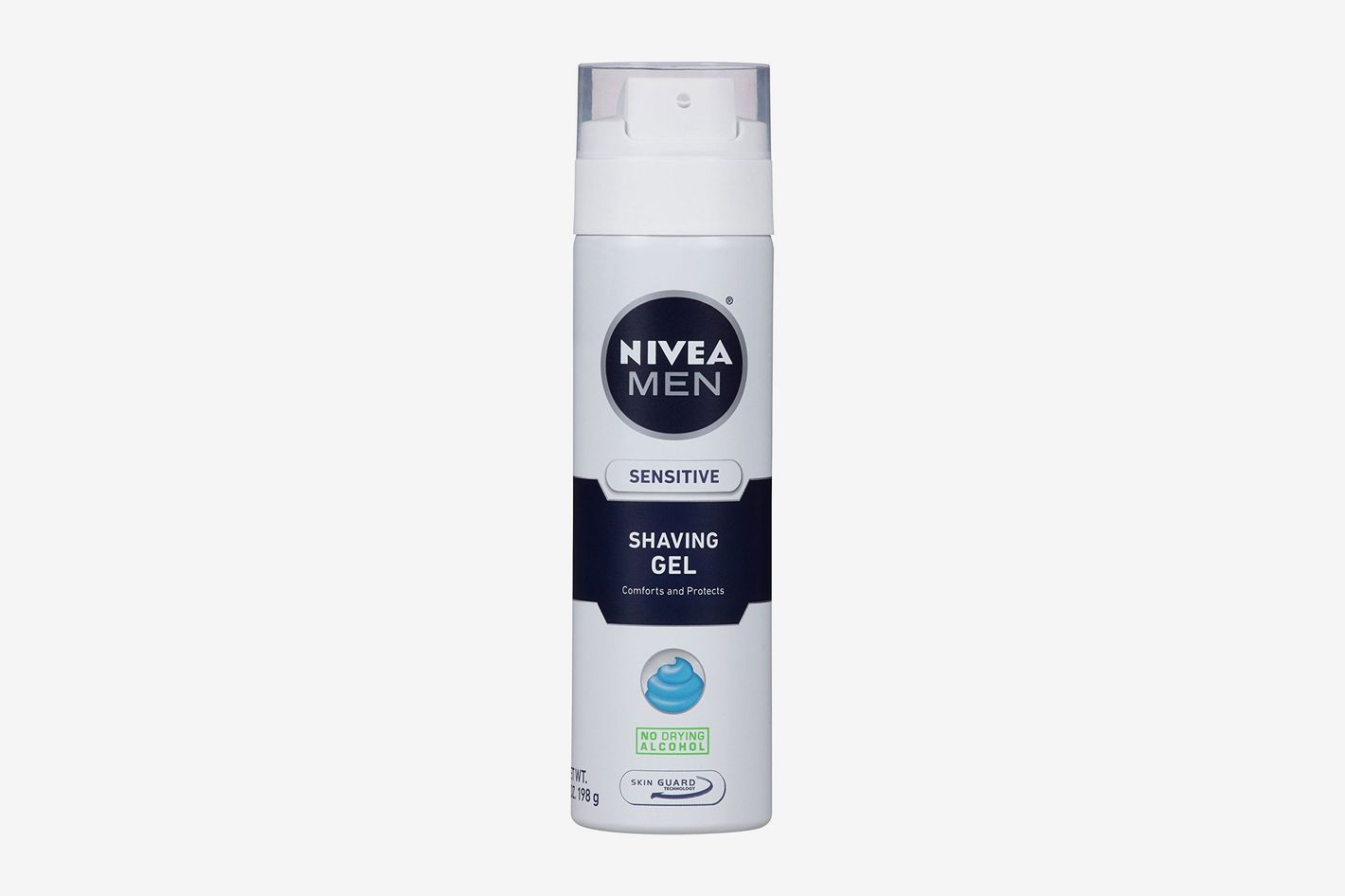 Nivea for Men Sensitive, Shaving Gel 7 oz (Pack of 3)