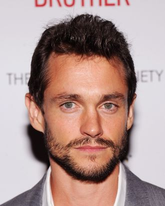 NEW YORK, NY - AUGUST 22: Actor Hugh Dancy attends The Cinema Society & Altoids screening of The Weinstein Company's