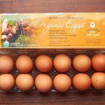 Sauder's Organic Cage-Free Eggs
