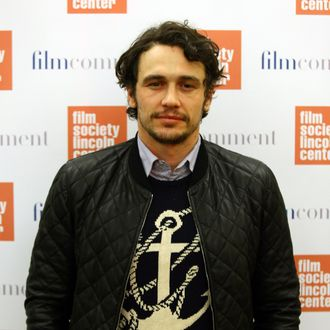 Actor and filmmaker James Franco attends the