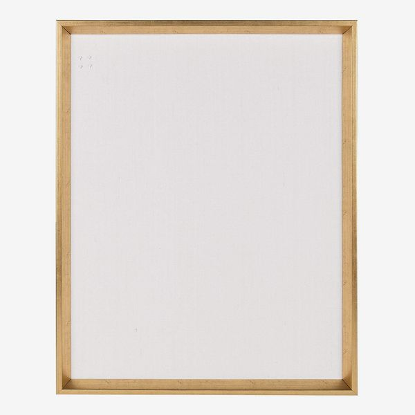 Kate and Laurel Calter Framed Linen Fabric Pin Board