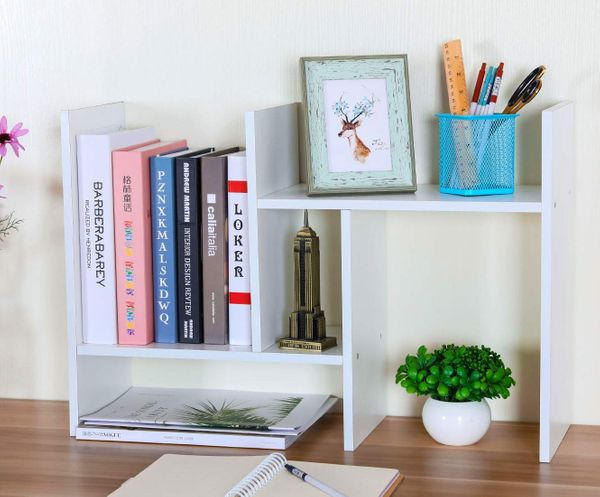 PAG Adjustable Desktop Bookshelf