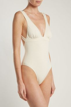 Marysia Nassau Reversible Tie-Back Swimsuit