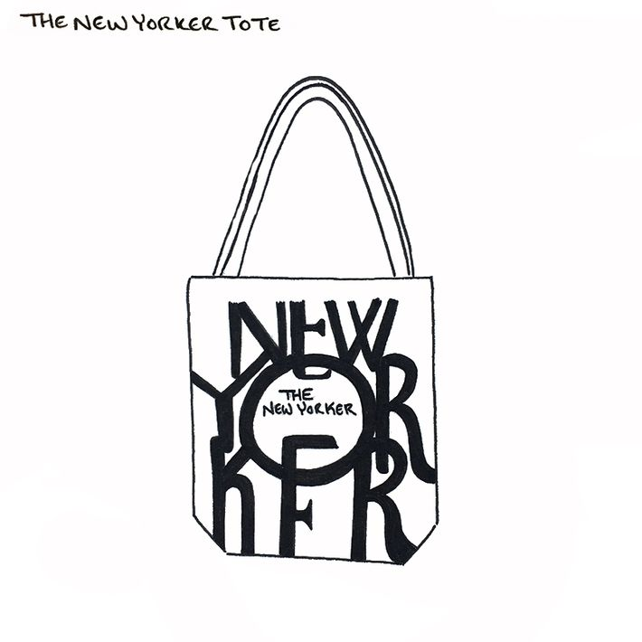 An Illustrated Guide to the Tote Bags of New York