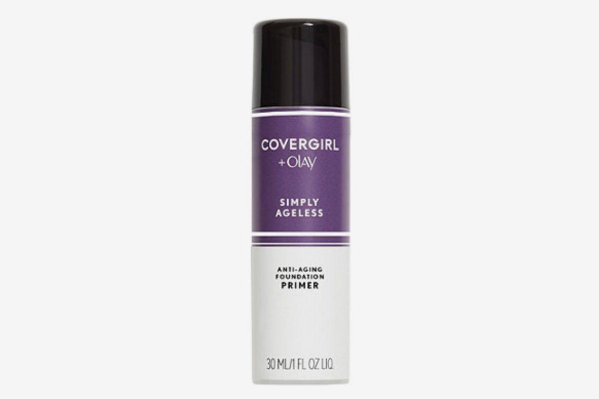 c91f1b0b8c9 Best drugstore primer for mature skin. Covergirl Simply Ageless Anti-Aging  Foundation Primer