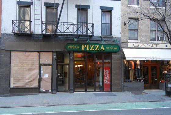 Prince Street Pizza.