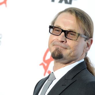 HOLLYWOOD, CA - SEPTEMBER 07: Writer/producer Kurt Sutter attends the season 6 premiere of FX's