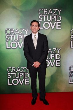 SYDNEY, AUSTRALIA - SEPTEMBER 14:  Actor and comedian Steve Carell arrives at the premiere of 'Crazy, Stupid, Love' at Event Cinemas Bondi Junction on September 14, 2011 in Sydney, Australia.  (Photo by Lisa Maree Williams/Getty Images)
