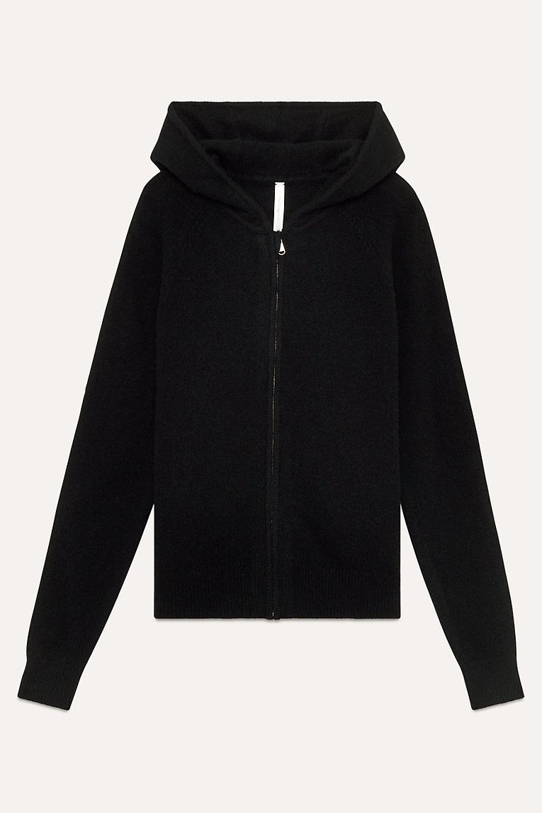 The Group by Babaton Cashmere Zip Hoodie