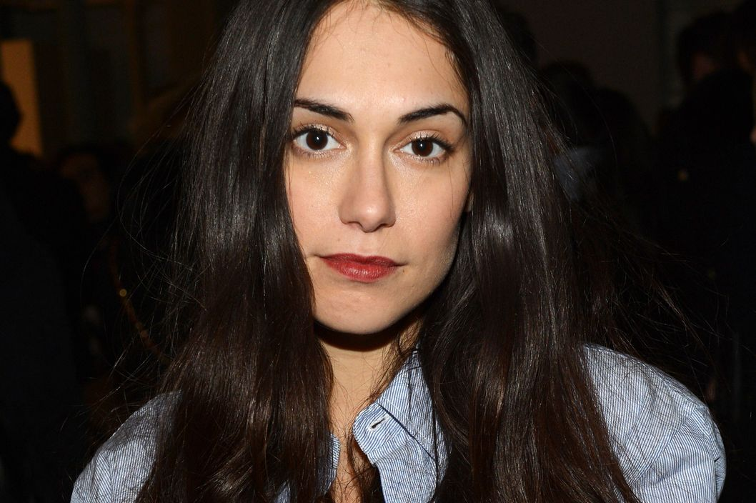 Actress Audrey Gelman attends the Band Of Outsiders Women's Presentation during Mercedes-Benz Fashion Week Fall 2014 on February 9, 2014 in New York City.
