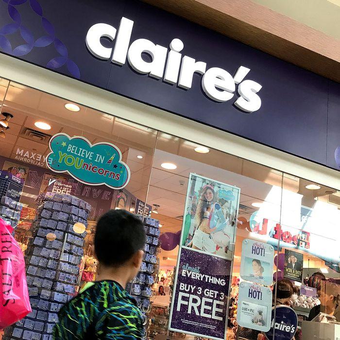 Claire's.