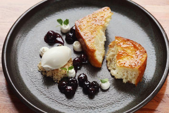 Bâtard's caramelized milk bread is a huge hit.