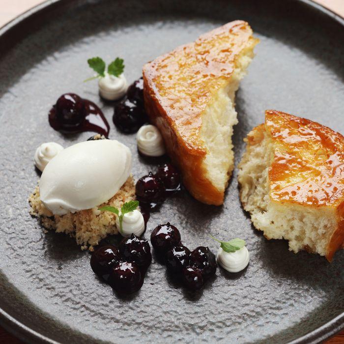 Caramelized milk bread: Bâtard's showstopper dessert.