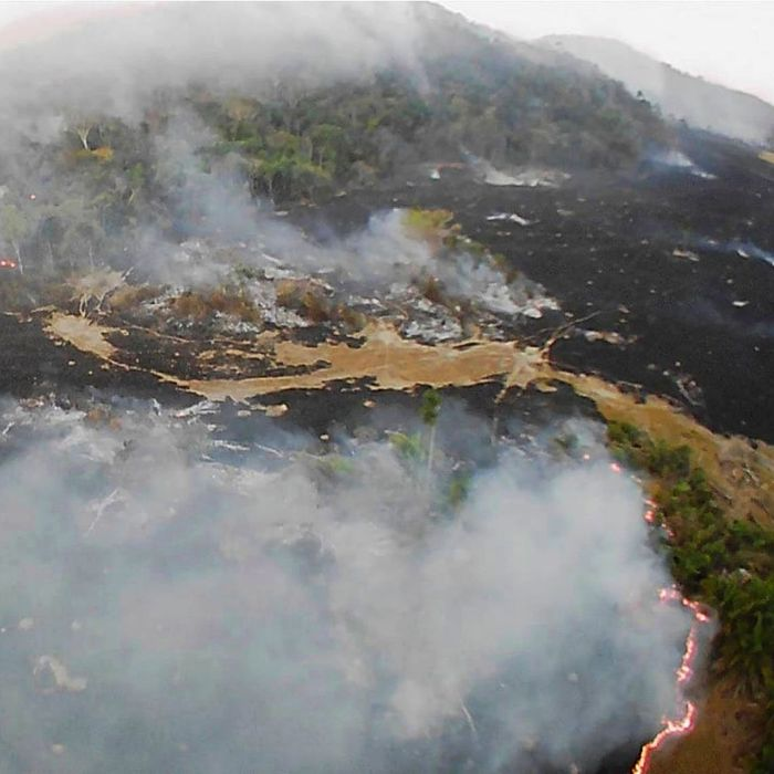 Brazil wildfires.