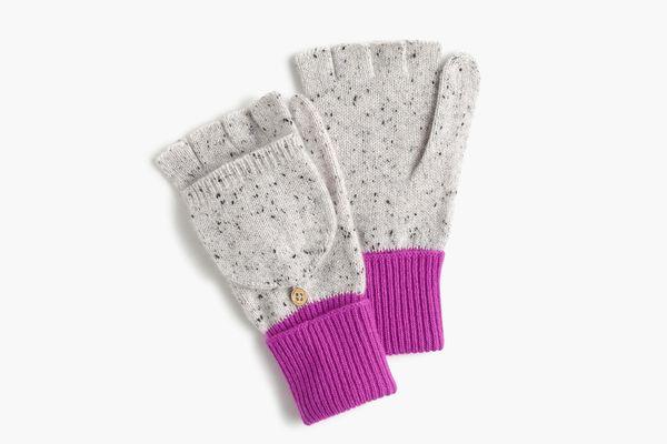 J.Crew Glitten in everyday cashmere gloves