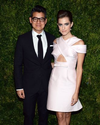 Peter Som and Allison Williams.