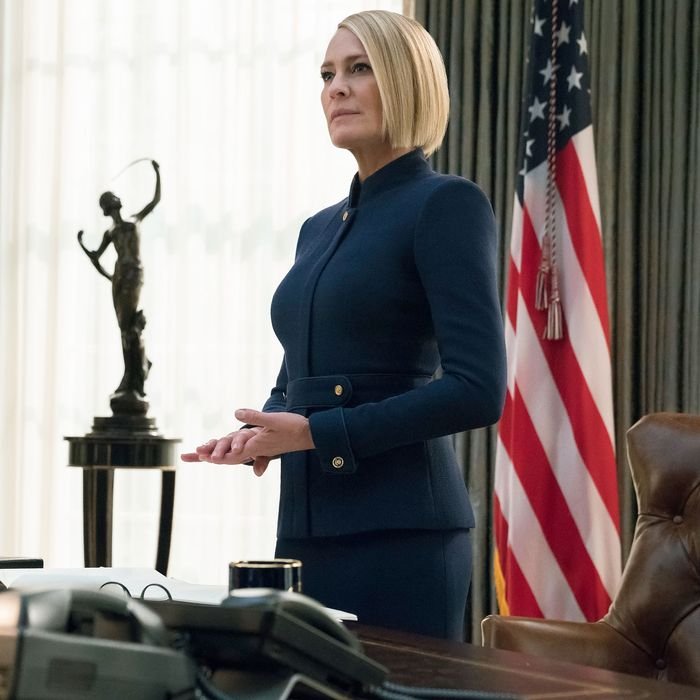 Robin Wright in House of Cards.
