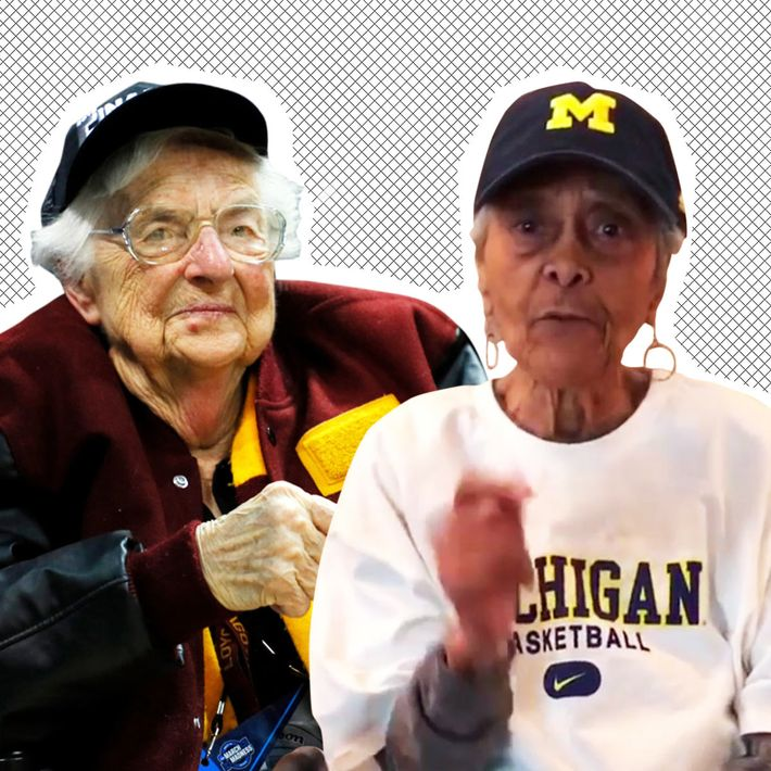 ncaa final four old lady basketball feud with sister jean