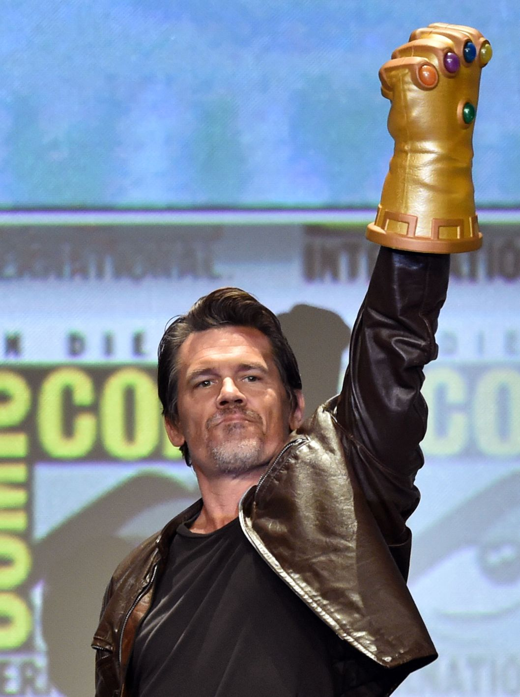 SAN DIEGO, CA - JULY 26:  Actor Josh Brolin attends the Marvel Studios panel during Comic-Con International 2014 at San Diego Convention Center on July 26, 2014 in San Diego, California.  (Photo by Kevin Winter/Getty Images)