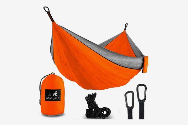 MalloMe Hammock Camping Portable Double Tree Hammocks