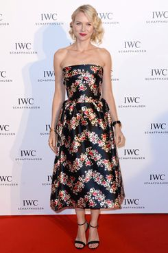 "Naomi Watts attends the exclusive ""For The Love Of Cinema"" event hosted by Swiss luxury watch manufacturer IWC Schaffhausen at the famous Hotel du Cap-Eden-Roc on May 19, 2013 in Antibes, France."
