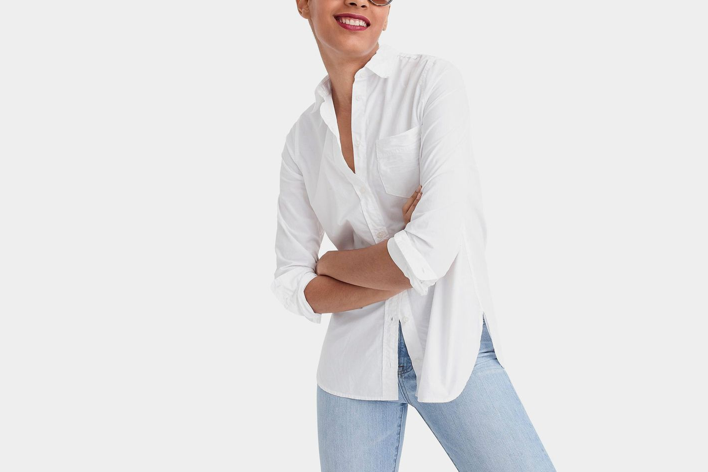 J.Crew Classic-fit Boy Shirt in Cotton Poplin