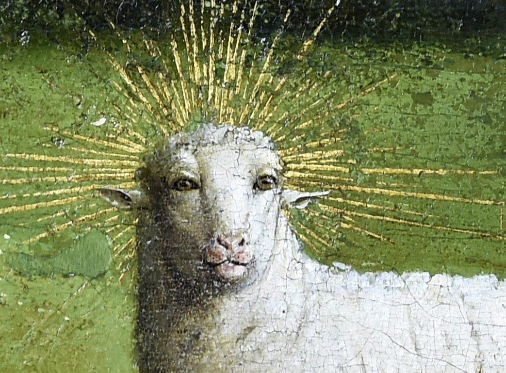 This Lamb of God Had Some Work Done