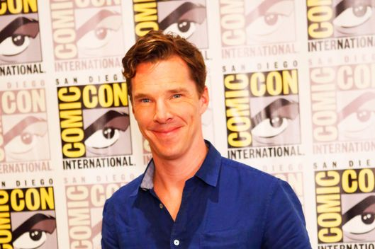 24 Jul 2014, San Diego, California, USA --- Celebrity Arrivals at the 'Penguins Of Madagascar' in San Diego. Part of The San Diego Comic Con in CA. Pictured: Benedict Cumberbatch --- Image by ? Richie Buxo/Splash News/Corbis