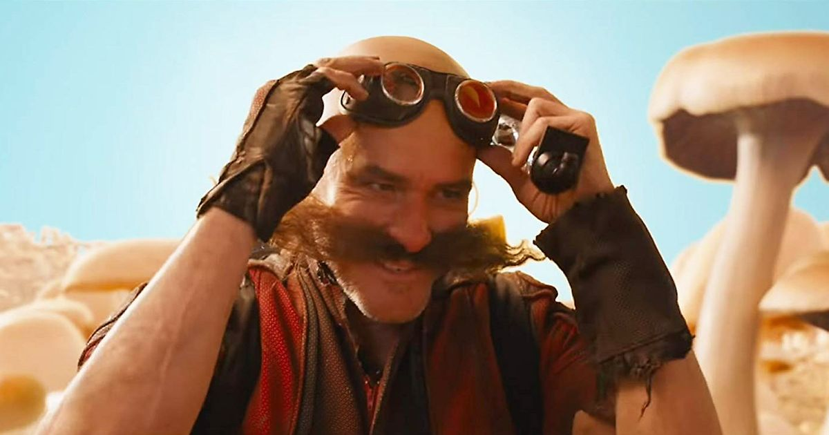 Jim Carrey Goes Method as Sonic's Dr. Robotnik, Questions the Will of the Masses