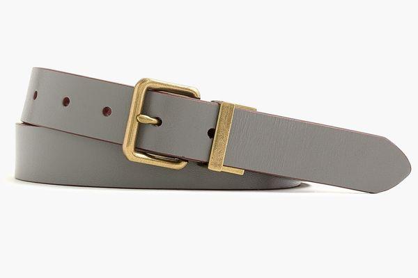 J. Crew Reversible Leather Dress Belt