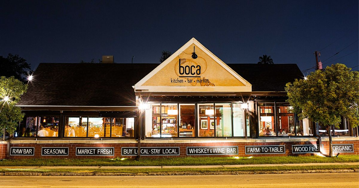 Boca Kitchen Restaurant Tampa