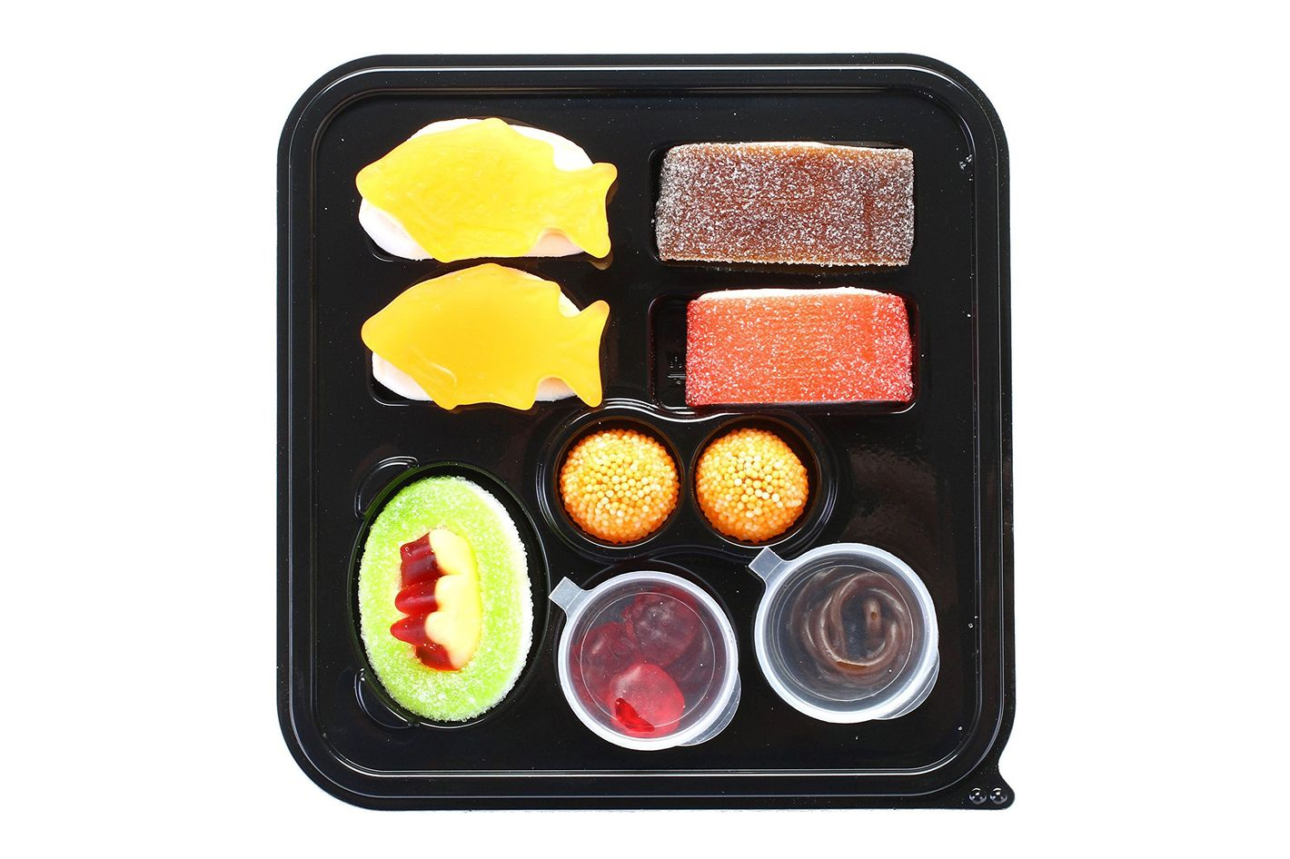 Raindrops Mini Candy Gummy Sushi Bento Box