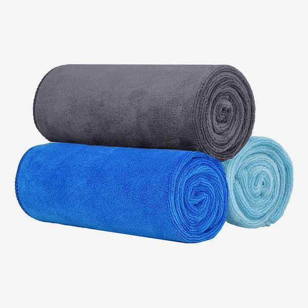 VIcolour Microfiber Gym Towels 3-Pack