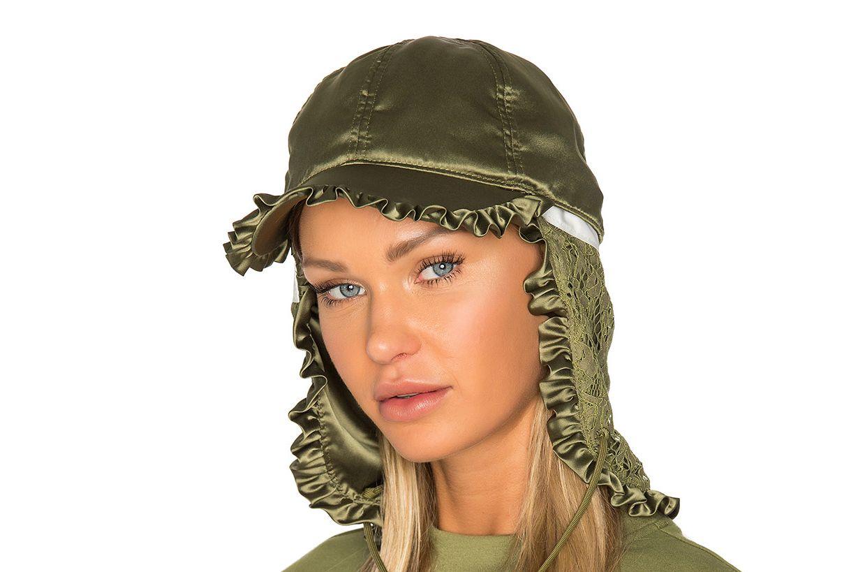 Fenty by Puma Ruffle Trapper Hat