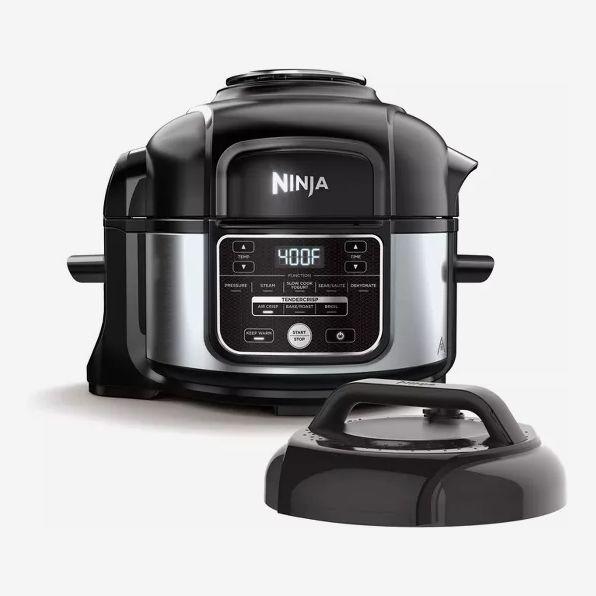 Ninja Foodi Programmable 10-in-1 5-Quart Pressure Cooker and Air Fryer (Renewed)