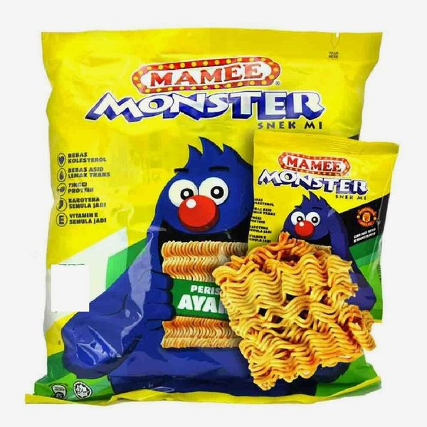 Mamee Monster Noodle Snack (Chicken Flavor)