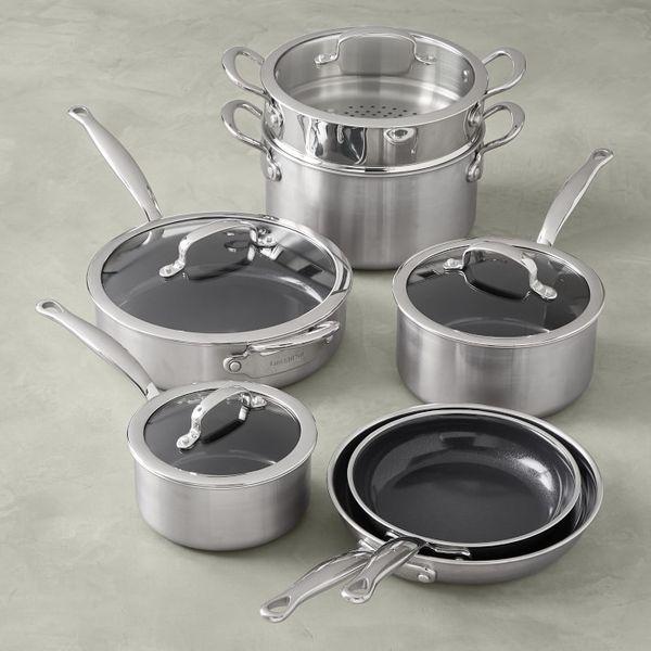 GreenPan Premiere Ceramic Nonstick 11-Piece Cookware Set