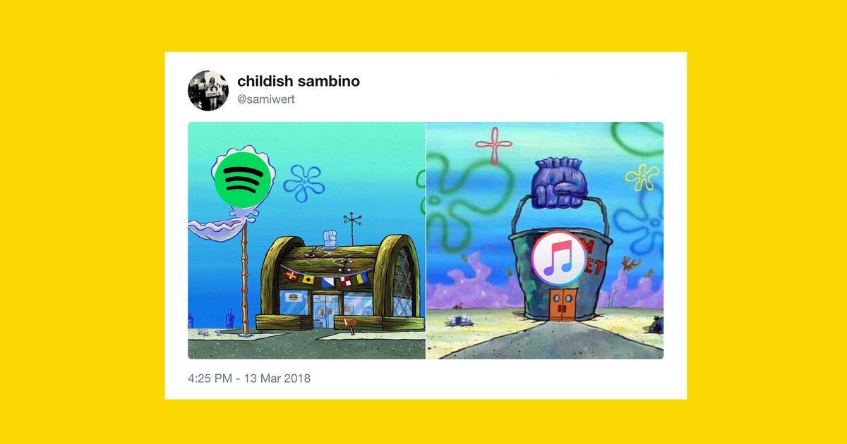 The Krusty Krab–Chum Bucket Rivalry SpongeBob Meme Explained