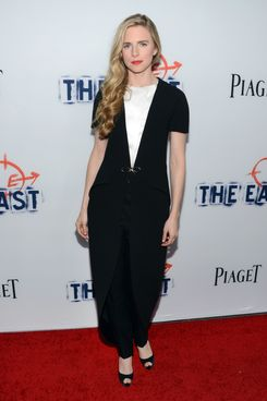 "Writer/Actress Brit Marling arrives at the premiere of Fox Searchlight Pictures' ""The East"" presented by Piaget at ArcLight Hollywood on May 28, 2013 in Hollywood, California."