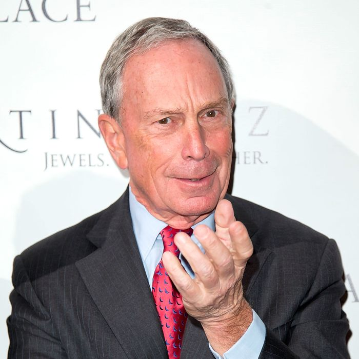 NEW YORK, NY - SEPTEMBER 17: Mayor Michael Bloomberg attends the New York Palace's unveiling celebration on September 17, 2013 in New York City. (Photo by Ben Hider/Getty Images)
