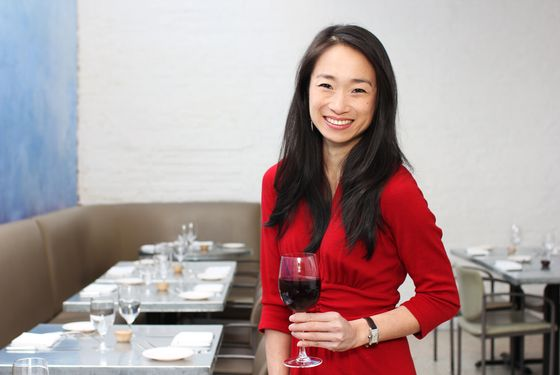 "Chang at one of her Soho lunch haunts, <a href=""http://nymag.com/listings/restaurant/giorgione/"">Giorgione</a>."